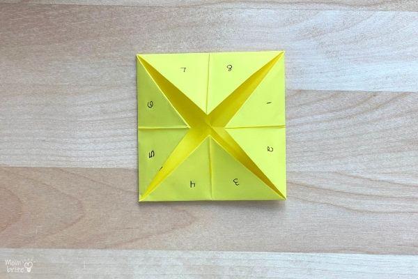 Origami Fortune Teller Fold (10)
