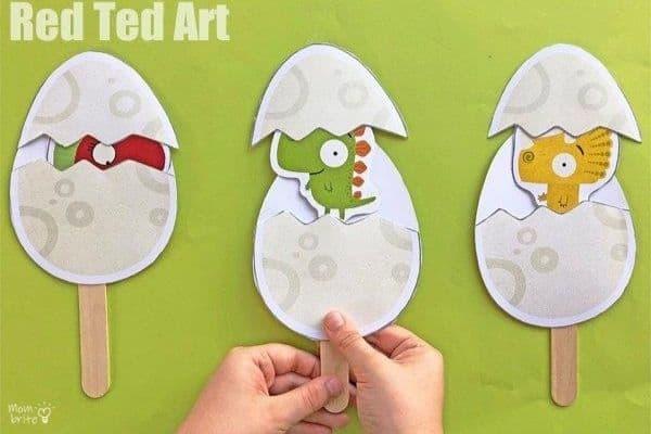 Peek A Boo Surprise Dinosaur Eggs