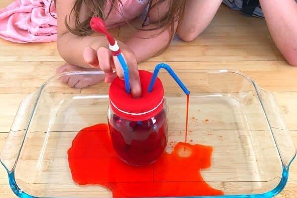 Pumping Heart Model Flow Blood
