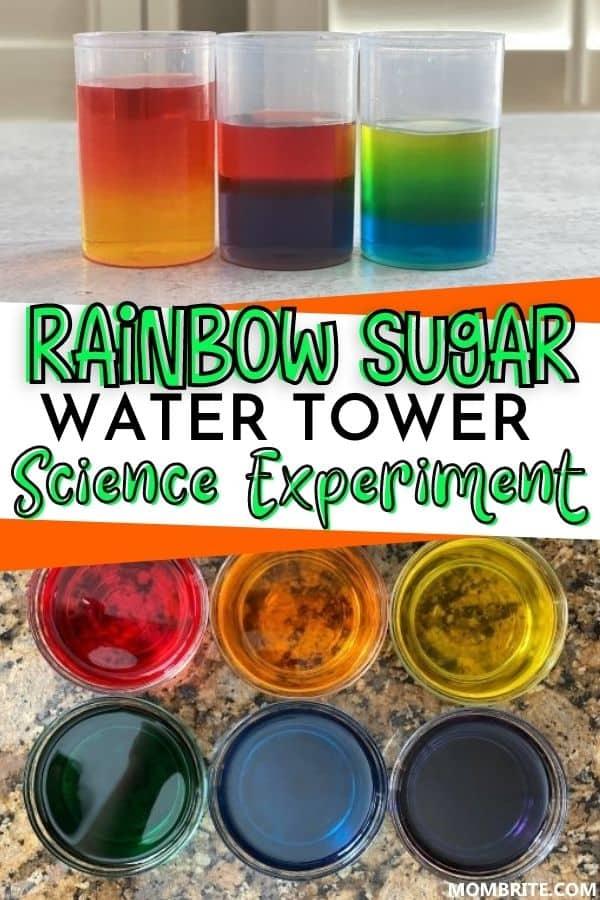 Rainbow Sugar Water Tower Pin