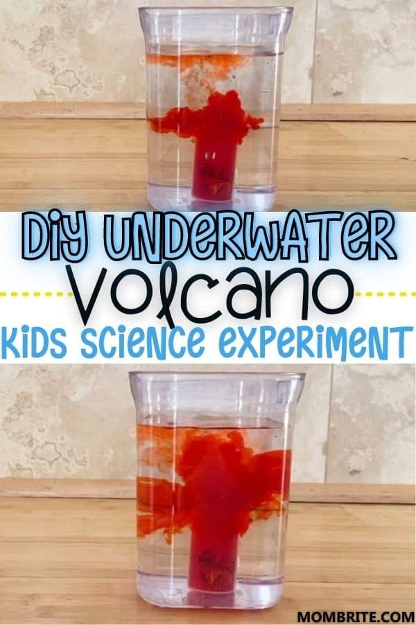 Underwater Volcano Pin
