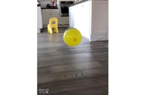 Balloon Rocket Activity
