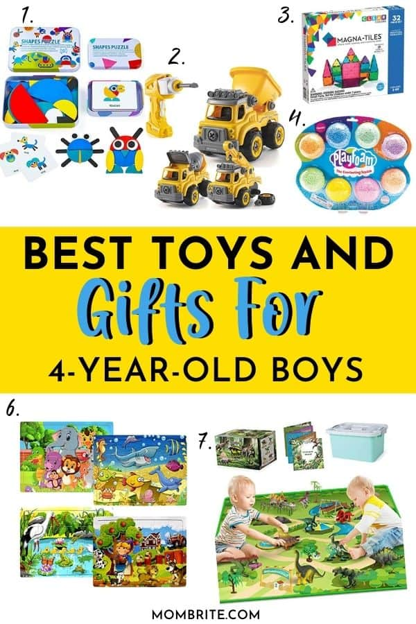 Best Gifts for 4 Years Old Boys Pin