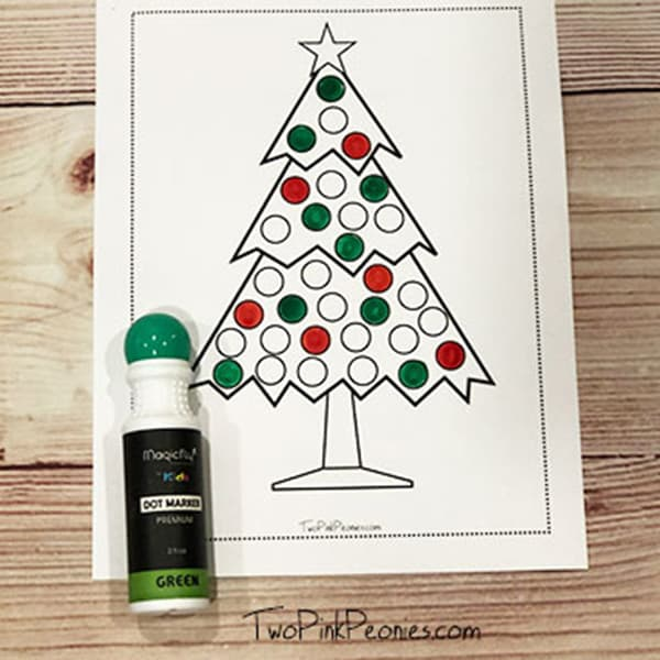 Christmas Dot Marker Printable