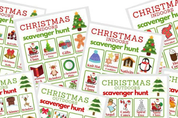 Christmas Scavenger Hunt