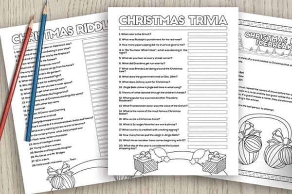 Christmas Trivia and Party Games