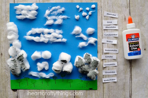 Cotton-Ball-Clouds-Activity