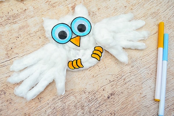 Cotton-Ball-Owl-Craft