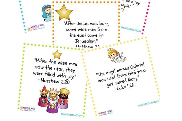 Free Printable Advent for Kids