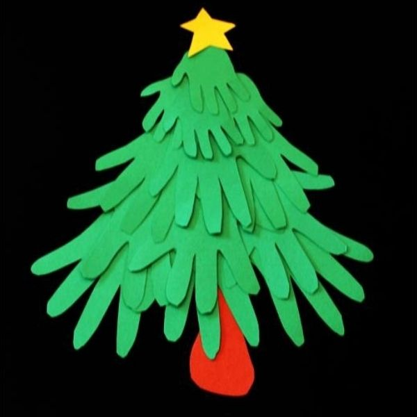 Handprint Christmas Craft Image