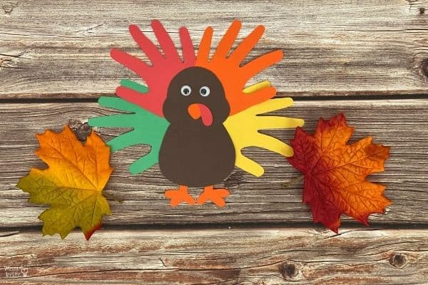 Handprint Turkey Craft (3)