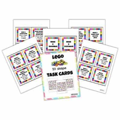 LEGO Task Cards Mockup