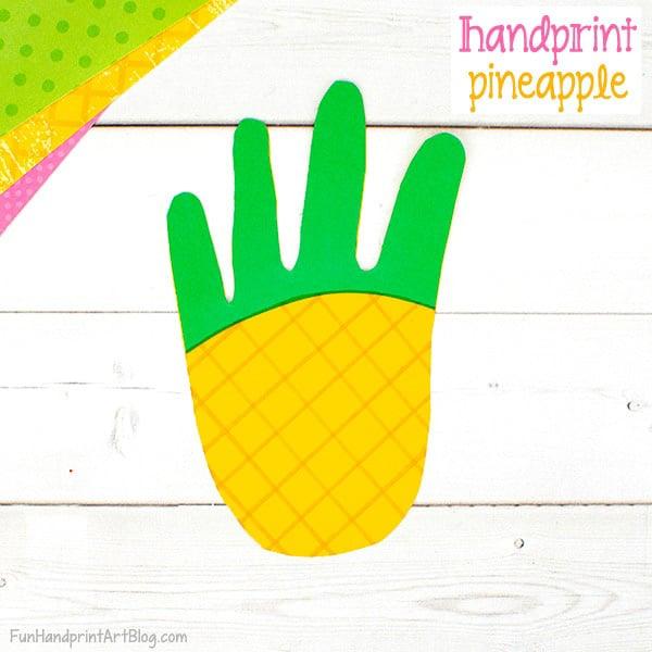 Paper Pineapple Craft