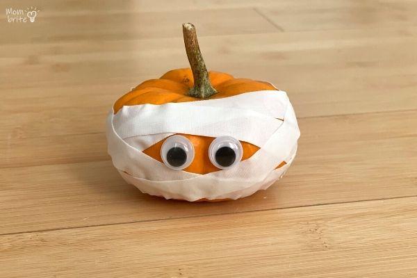 Pumpkin Mummy Craft Tape