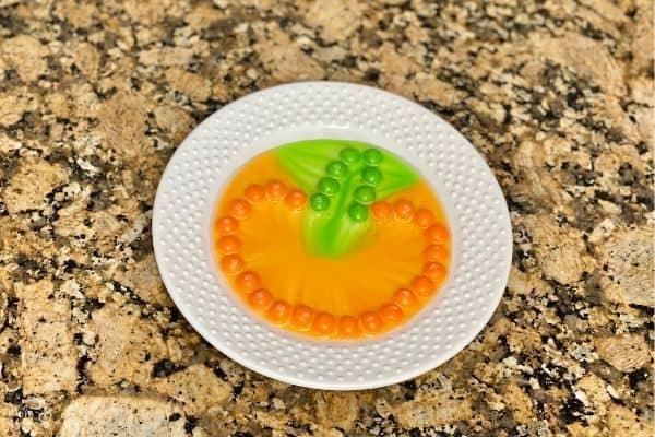 Pumpkin Skittles Experiment