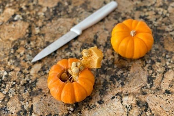 Pumpkin Volcano Carve Pumpkin
