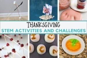 Thanksgiving STEM for Kids