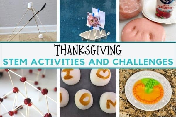 Thanksgiving STEM for Kids