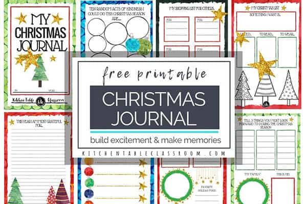 The Christmas Book Free Printables