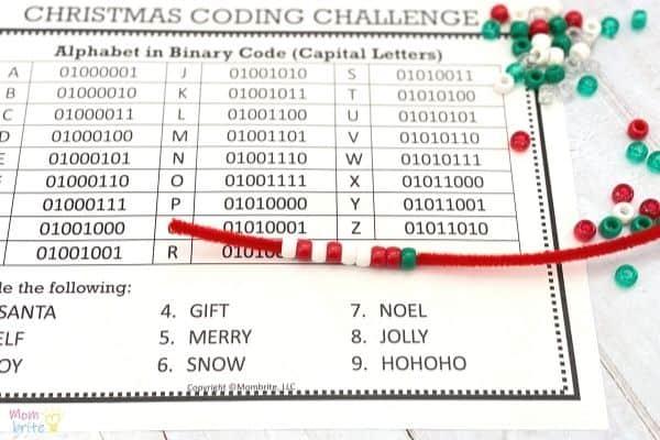 Alphabet Coding Ornaments (2)