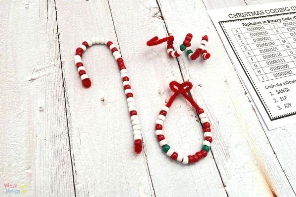 Alphabet Coding Ornaments (3)