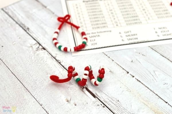 Alphabet Coding Ornaments (6)