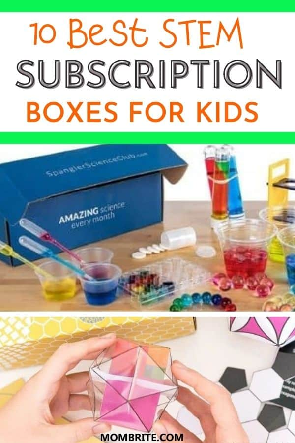 Best STEM Subscription Boxes for Kids Pin