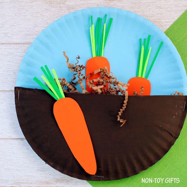Carrots in the Garden Craft