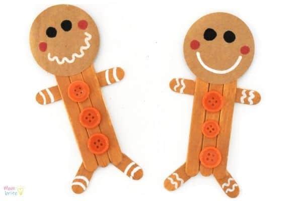 Craft Stick Gingerbread Man (1)