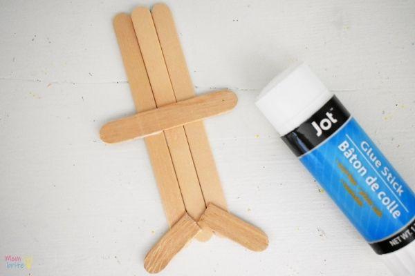 Craft Stick Gingerbread Man (3)