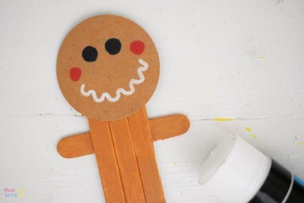 Craft Stick Gingerbread Man (8)