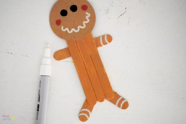 Craft Stick Gingerbread Man (9)