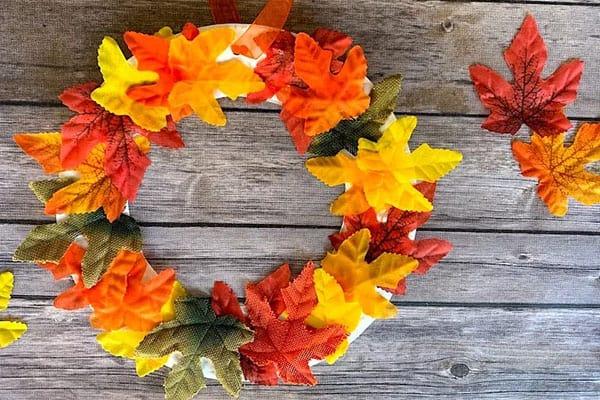 DIY Fall Wreath Craft