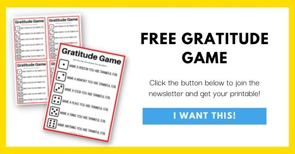 Gratitude Game Email List Opt-In