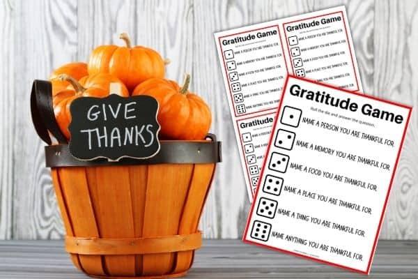 Gratitude Game Mockup