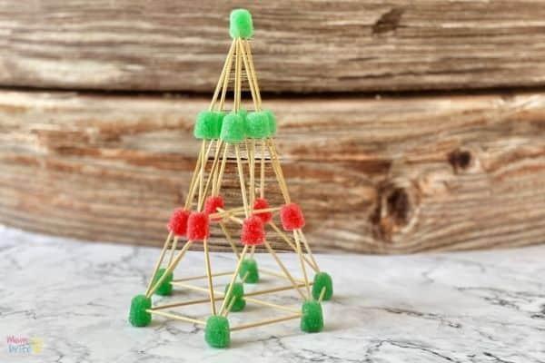 Gumdrop Christmas Tree Challenge (7)