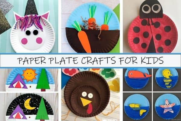 Paper Plate Crafts for Kids Image