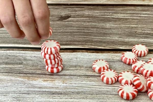 Peppermint Candy Tower Challenge