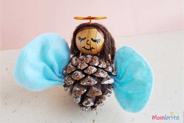 Pinecone Angel craft