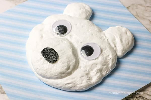 Polar Bear Slime Recipe