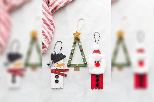 Popsicle Stick Christmas Craft
