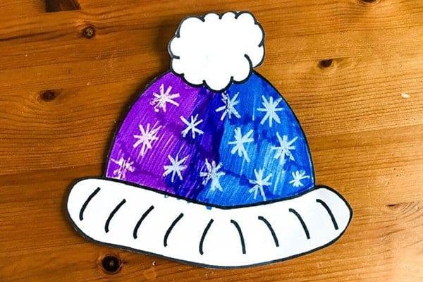 Simple Winter Hat Craft