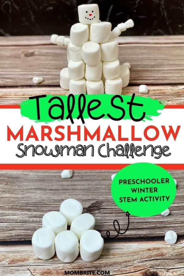 Tallest Snowman Challenge Pin