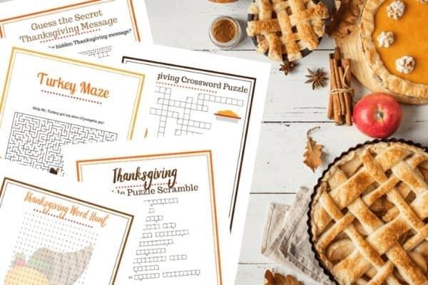 Thanksgiving Game Pack Image