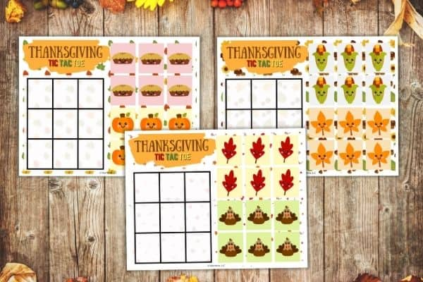 Thanksgiving Tic Tac Toe (1)