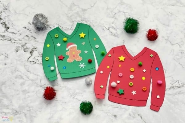 Ugly Christmas Sweater Craft (2)