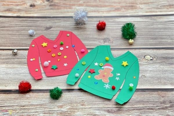 Ugly Christmas Sweater Craft (3)