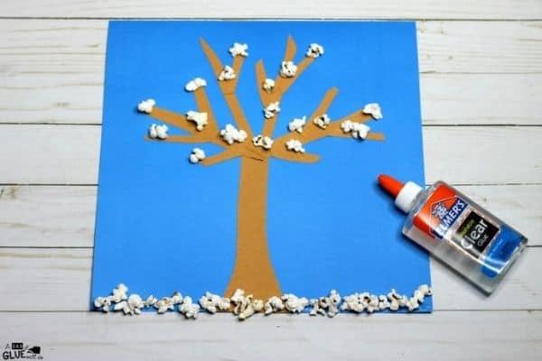 Winter Tree Craft Image