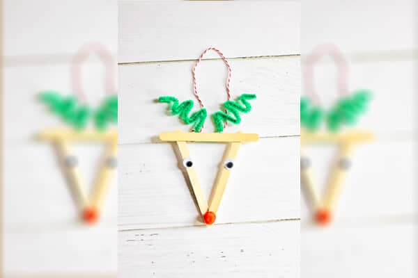 colorful sleds popsicle sticks