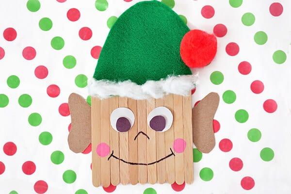 popsicle stick elf